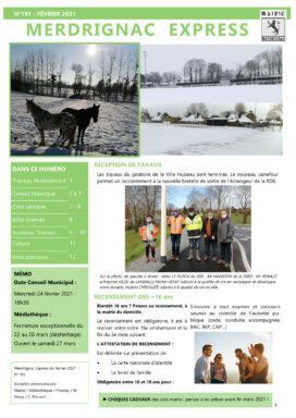 Merdrignac Express Février 2021