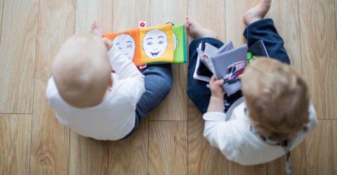 Séance bébés lecteurs à la médiathèque
